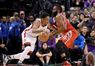 NBA savaitės laureatai – D. DeRozanas ir J. Hardenas
