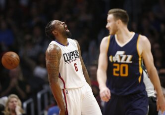 """NBA lygoje """"Clippers"""" klubas įveikė """"Jazz"""" ekipą ir pateko į atkrintamas varžybas"""