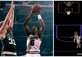 J. Ervingas prieš L. Birdą: krepšinio vaizdo žaidimas, pakeitęs sporto verslą