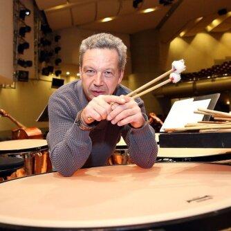 Philipo Glasso koncertą Vilniuje atliks vieni iš žymiausių Baltijos šalių perkusininkų