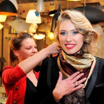 Per savo gimtadienį aktorė Sandra Daukšaitė-Petrulėnė tapo modeliu