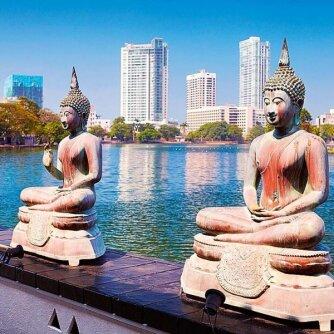 Atostogos be skubos. Kolombas (Šri Lanka)