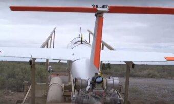 Lockheed Martin pademonstravo Athena
