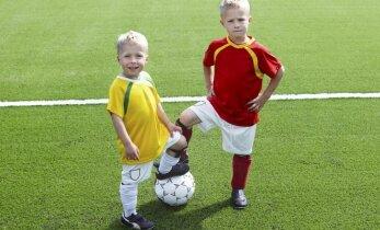 Informacija apie futbolo treniruotes vaikams - viename puslapyje