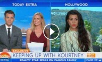 K. Kardashian patyrė gėdą tiesioginiame eteryje