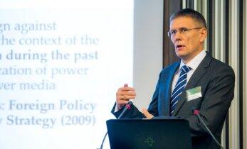 Estijos pulkininkas: Rusija daro viską, kad ištaisytų V. Putino įvardintą klaidą