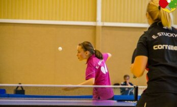 Lietuvos stalo teniso pirmenybėse – dramatiškos vyrų kovos ir 13-metės stebuklai
