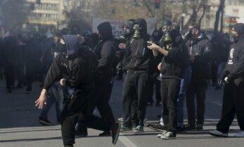 Visuotinis streikas paralyžiavo gyvenimą Graikijoje