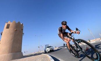 Dviratininkų lenktynių Katare trečiame etape G. Bagdonas finišavo 40–as