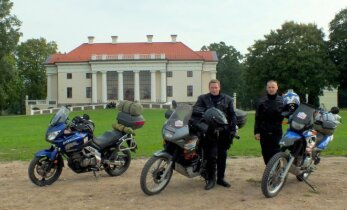Mototurizmo ralis: motociklininkai nėra begalviai nesubrendėliai
