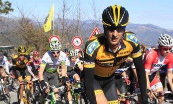 I. Konovalovas dviratininkų lenktynėse Prancūzijoje užėmė 22-ą vietą