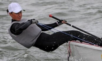 Lietuvos buriuotojos iškovojo pirmą olimpinį kelialiapį į Rio de Žaneiro žaidynes