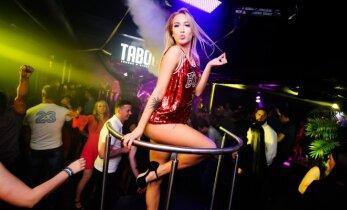 Vakarėlį drebino seksualios šokėjos