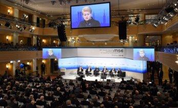 Po drąsių D. Medvedevo pareiškimų apie šaltąjį karą, D. Grybauskaitė rėžė atgal