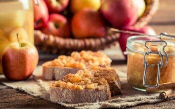 Obuolių ir cukinijų uogienė