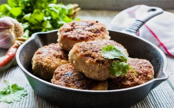 Bulvių ir mėsos kotletai