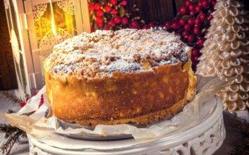 Kalėdinis sūrio pyragas