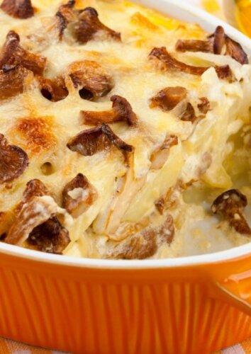 Bulvių ir voveraičių apkepas