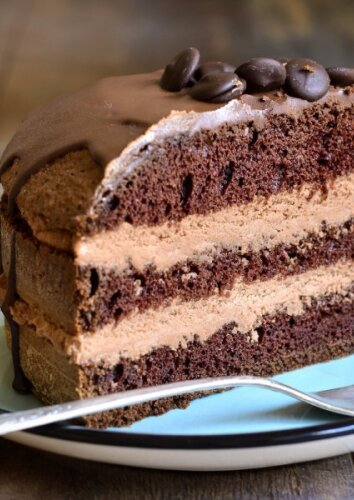 Šokoladinis tortas su maskarponės kremu