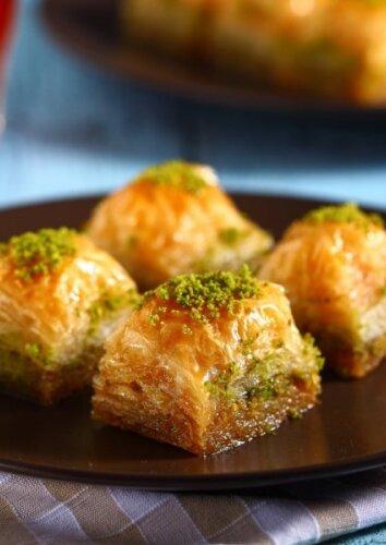 Baklava su pistacijomis