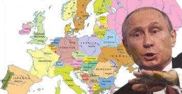 Kokios Europos norėtų V. Putinas?