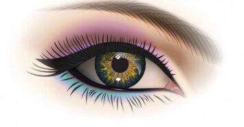 Itin greitas makiažas, kuris išryškins tavo akių spalvą