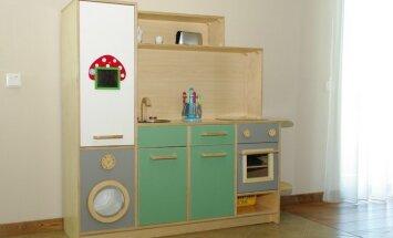 Pasidaryk pats: virtuvėlė vaikams