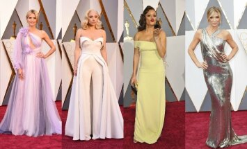 Heidi Klum, Lady Gaga, Audra Day, Debbie Matenopoulos