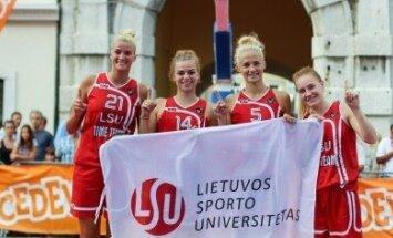 LSU merginos dalyvaus pasaulio trijulių krepšinio čempionate