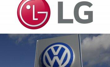 LG ir Volkswagen