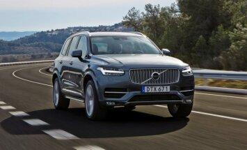 Pernai konkurse triumfavo Volvo XC90