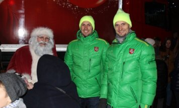 Kalėdų karavanas išjudino Lietuvos miestelius