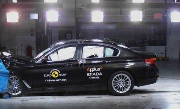 5-osios serijos BMW avarijos testas