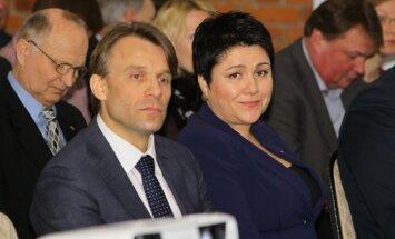 Edis Urbanavičius ir Daina Gudzinevičiūtė (A. Ališausko nuotr.)