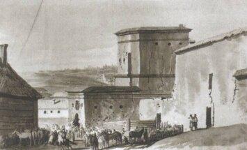 Rūdininkų vartai. Skenuota kopija iš A. Bumblauskas Senosios Lietuvos istorija