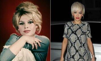 Brigitte Bardot ir Rita Ora