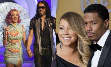 Katy Perry ir Russellas Brandas, Mariah Carey ir Nickas Cannonas