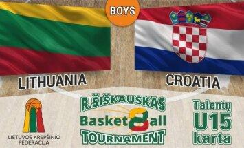 R.Šiškauko krepšinio turnyro rungtynių vizualizacija.