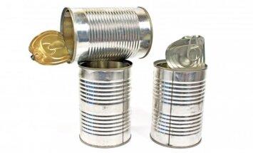 Neišmeskite metalinių skardinių! Idėjos, kaip jas pritaikyti buityje