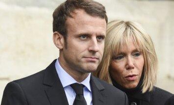 Emmanuelis ir Brigitte Macronai