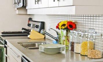 Kaip suteikti erdvumo mažai virtuvei