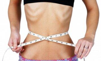 mergina, anoreksija, dieta