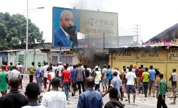 Demonstrantai ragina atsistatydinti Kongo prezidentą Josephą Kabilą