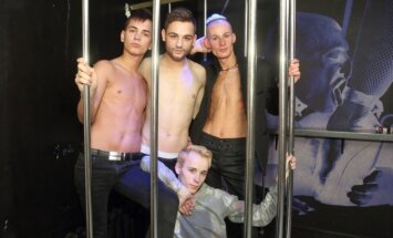 Mr. Gay Baltics 2015 dalyviai