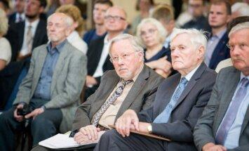 Vytautas Landsbergis ir Valdas Adamkus