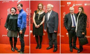 L. Bytautaitė su D. Rimkevičiumi, A. Čekuolis, A. Anušauskas su žmona Lina