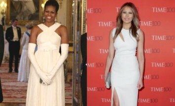 Michelle Obama ir Melania Trump