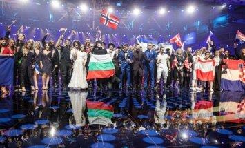 Eurovizijos antrojo pusfinalio nugalėtojai