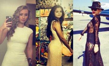 Iggy Azalea, Selena Gomez, Rita Ora