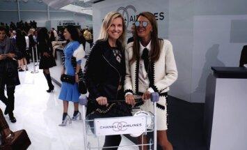 Marija Lama ir Vogue Japan redaktorė Anna Dello Russo